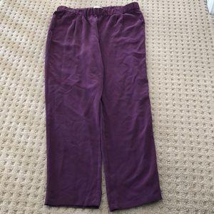 Silk equipment pants